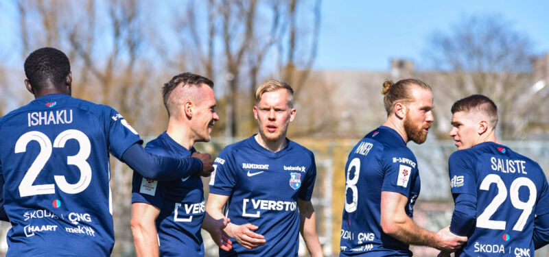 «Пайде» — новая сила в эстонском футболе