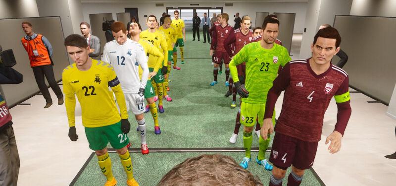 Балтийские футболисты в FIFA, PES и FM 21