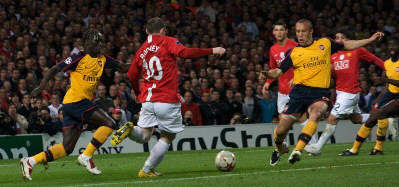 5 лучших матчей «Манчестер Юнайтед»  против «Арсенала»