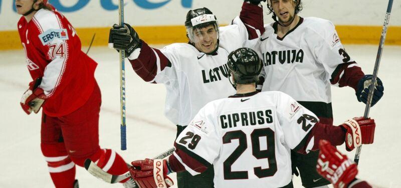 5 лучших Чемпионатов мира сборной Латвии