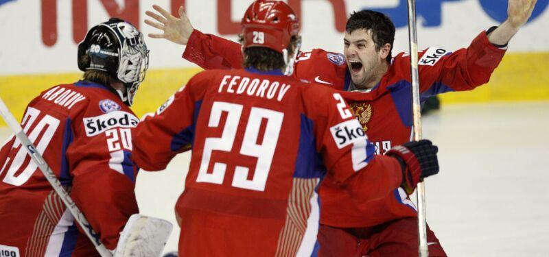 Лучшие финалы Чемпионатов мира по хоккею
