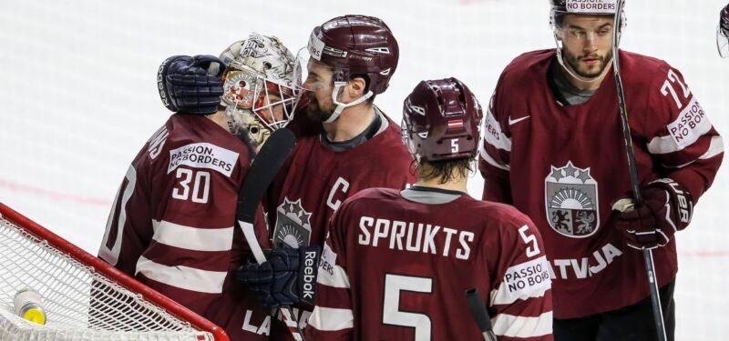 10 ярких побед сборной Латвии на Чемпионатах мира