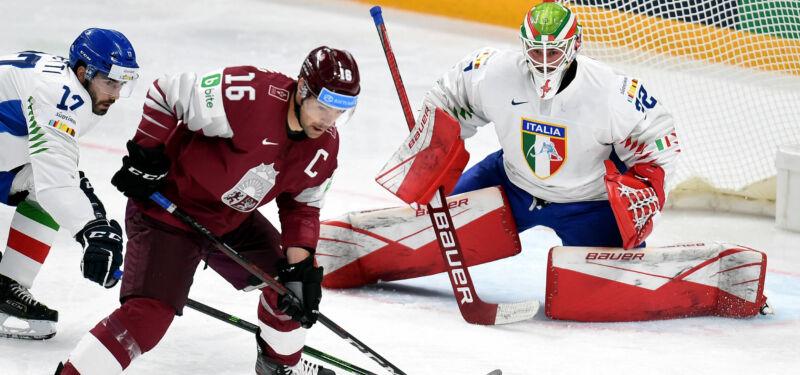 Доедут ли хоккеисты Латвии до Пекина?