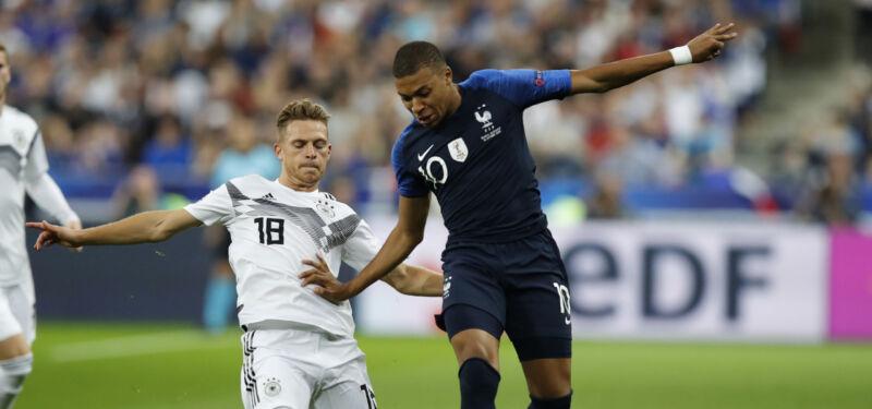 Франция – Германия. Классика европейского футбола